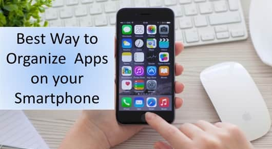 organize your mobile apps