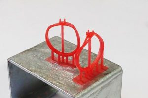 resin model printed by 3D printing