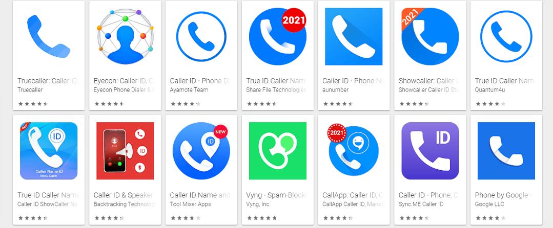 la mejor aplicación de identificación de llamadas