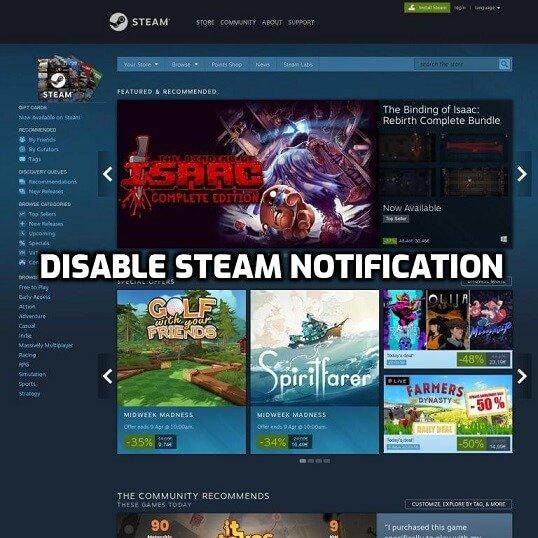 steam notification